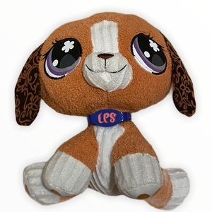 Littlest pet shop beagle dog stuffed animal
